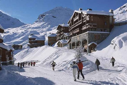 Горные лыжи Франция